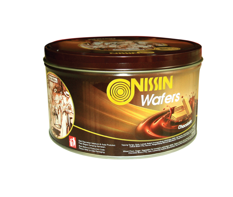Nissin Wafers Tin 200 gr