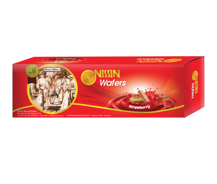 Nissin Wafers Shell 141 gr