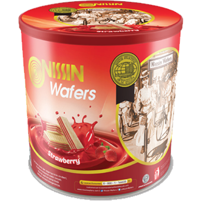 Nissin Wafers Tin 570 gr